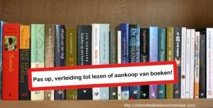 waarschuwing verleiding tot lezen van boeken