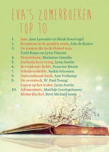 Eva zomerboeken top 10