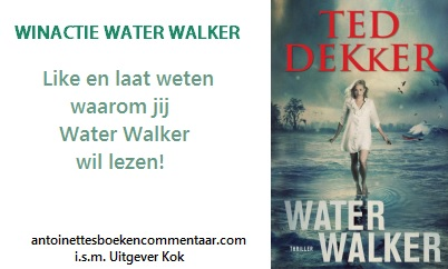 winactie Water Walker Ted Dekker