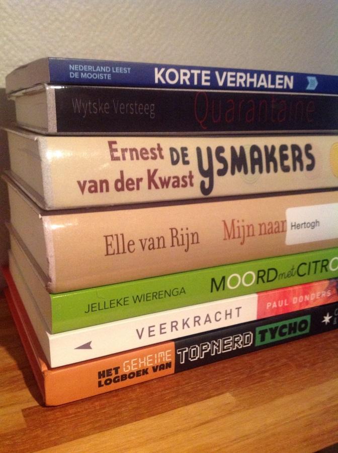 Boekencommentaar november