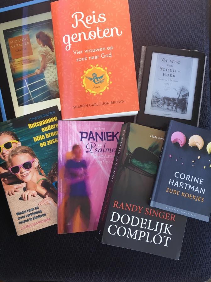 9 boeken gelezen in de vakantie