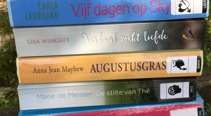 5 romans gelezen in augustus