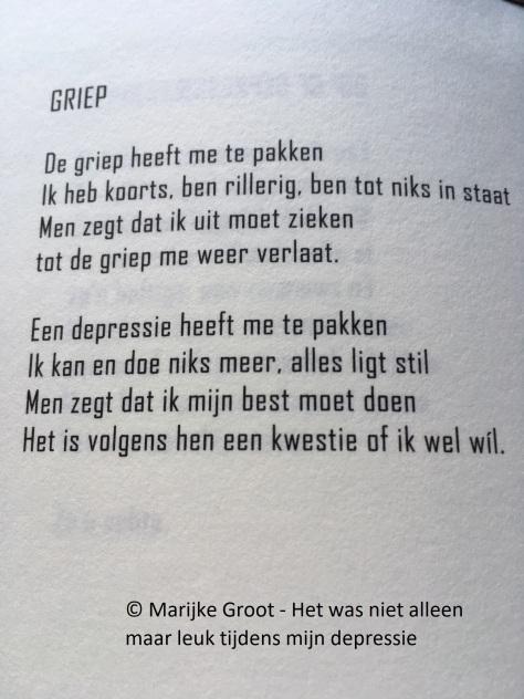 Gedicht griep